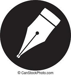 鋼筆, 圖象