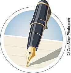 鋼筆, 墨水