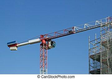 鋼鉄, クレーン, 構造
