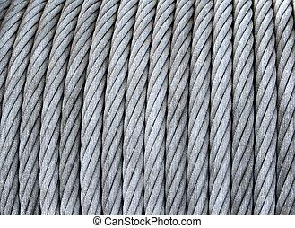 鋼鉄, コイル, ケーブル