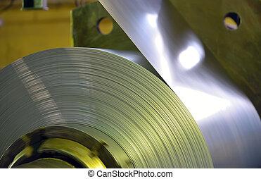 鋼鉄, コイル, 亜鉛メッキされた