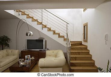 鋼鉄, ステンレス食器, 階段
