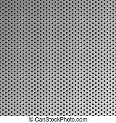 鋼鉄, パターン, 金属, seamless, ベクトル, 背景