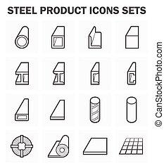 鋼鉄, 構造