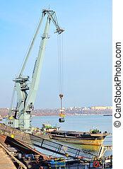 鋼鉄, 港, シート, 回転する