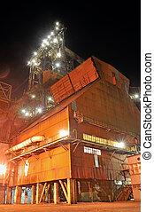 鋼鉄, 産業, 夜