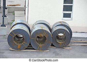 鋼鉄, metal-roll
