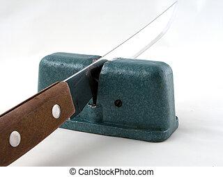 鋼鉄, sharpener, ナイフ