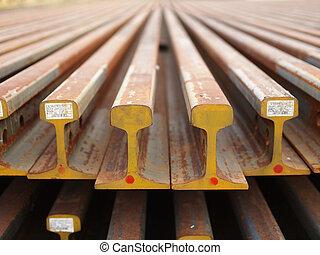 鋼鐵大粱, 訓練, 建造, 路軌