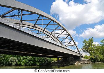 鋼, 橋梁