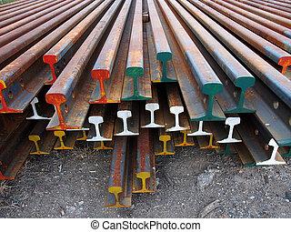鋼, 橫樑, 腐蝕, 行