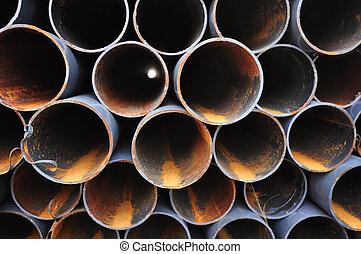 鋼, 管子