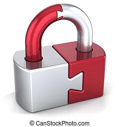 錠, セキュリティー, 予防措置, ナンキン錠