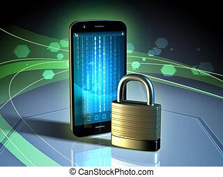 錠,  smartphone