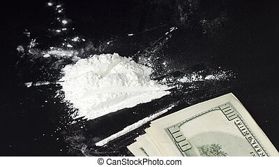 錢, 可卡因