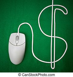 錢, 在網上