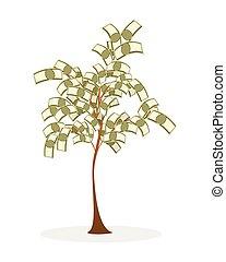 錢, 酒, 樹