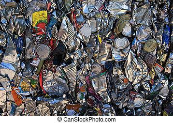錫, リサイクル, 缶