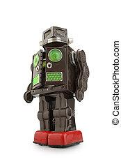 錫, レトロ, ロボット, おもちゃ