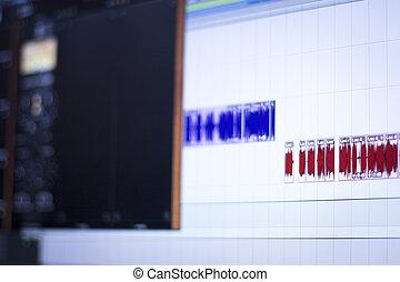 録音, スタジオ, スクリーン
