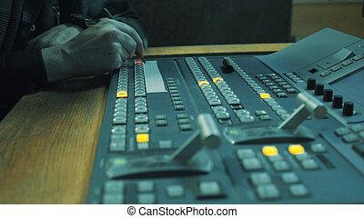 録音, studio.