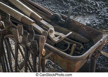 鍛冶屋, 型, 他, 道具, プライヤー