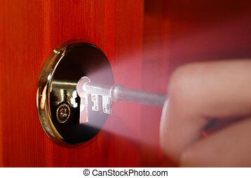 鍵穴, キー