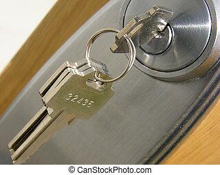 鎖, 門鑰匙