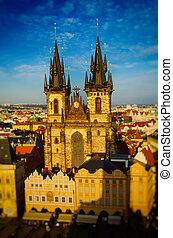 鎮, 老, 布拉格, 廣場