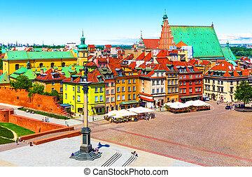 鎮, 華沙, 波蘭, 老