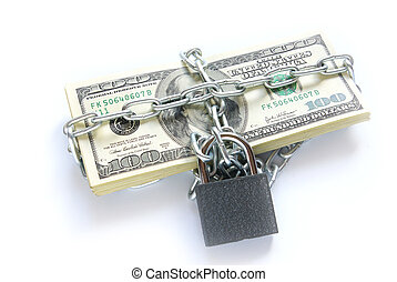 鏈子, 被鎖, 美元