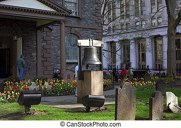 鐘, の, 希望, 三位一体教会, ニューヨークシティ