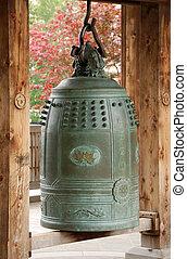 鐘, アジア人, 掛かること