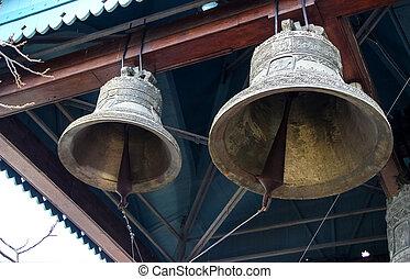 鐘, 中に, 修道院