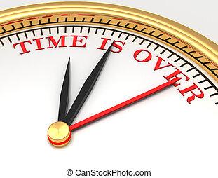 鐘, 由于, 詞, 時間, 是, 在上方, 上, 臉