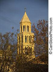 鐘, st. 。, donatus, 教会, zadar, タワー