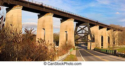 鐵路, 天橋