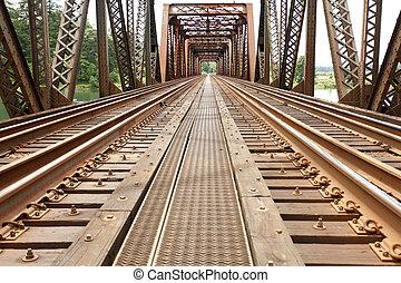 鐵路, 舊的橋