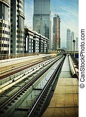 鐵路, 迪拜