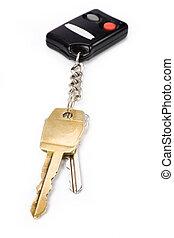 鑰匙, 汽車
