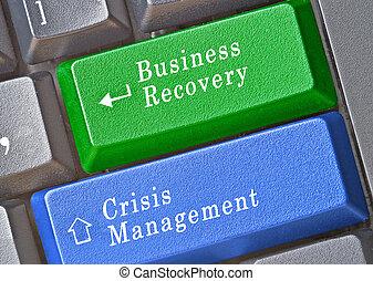 鑰匙, 管理, 危機, 事務, 恢復