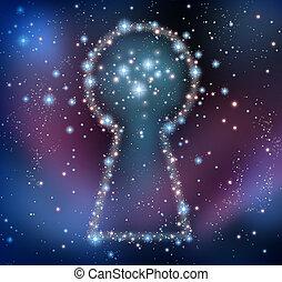 鑰匙, 靈感