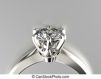 鑽石, 珠寶, 約會, 背景, 戒指, moissanite., 或者
