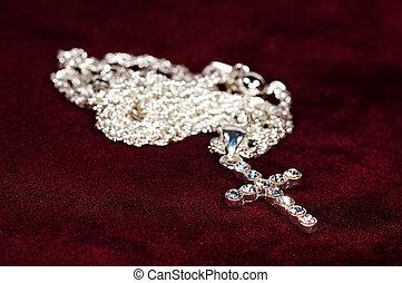 鑽石, 耶穌受難像