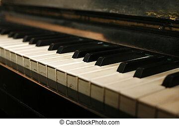 钢琴, 盛大