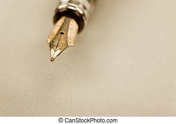 钢笔, 泉水