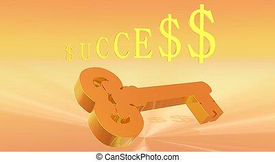 钥匙, 成功
