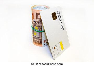 钱卷, 卡片, 信用
