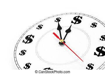 钱, 时间