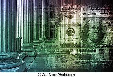 银行业务以联机方式